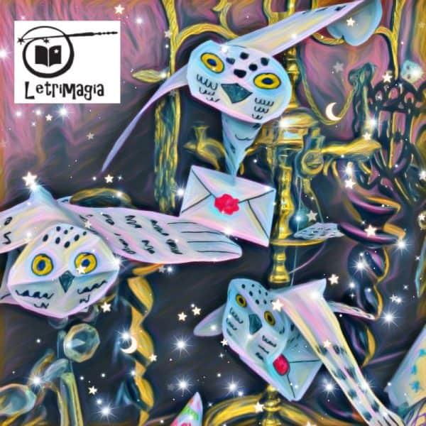 Lechuzas y Cartas - Letrimagia