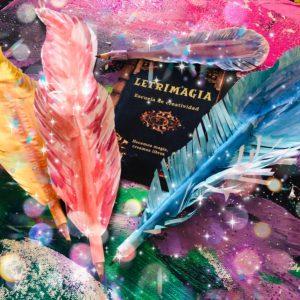 Plumas mágicas - Letrimagia