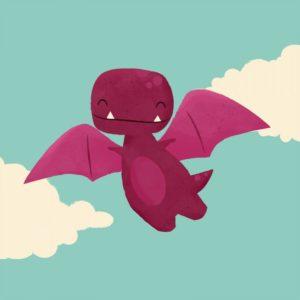 Dinosaurio volando - Jay Fleck