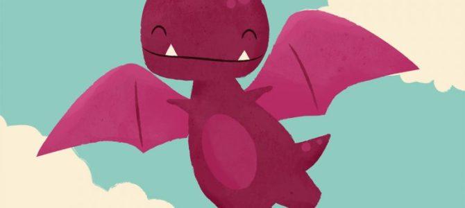 Dibujando dragones y dinosaurios