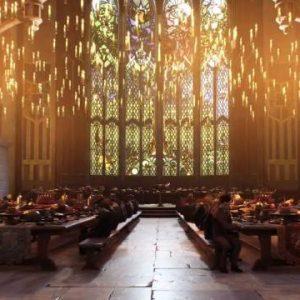 Cena gran salón mágico