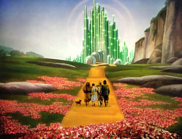 Camino ciudad mágica